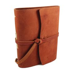 Brown Leather Journal by Rustico found at Details in Lancaster, PA