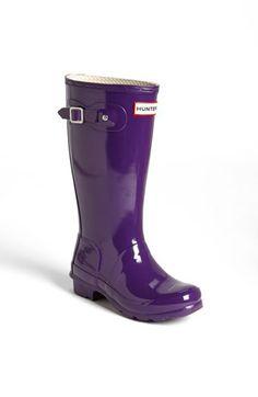 Hunter 'Original Gloss' Rain Boot (Toddler, Little Kid & Big Kid) available at #Nordstrom