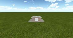3D #architecture via @themuellerinc http://ift.tt/2p9pEUS #barn #workshop #greenhouse #garage #DIY