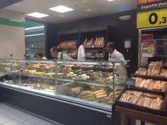 Panadería de la tienda HiperDino de Triana, Las Palmas