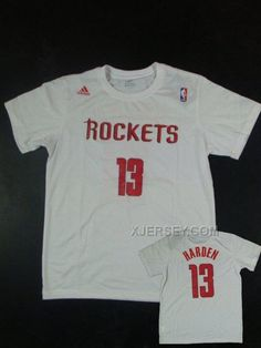 http://www.xjersey.com/rockets-13-harden-name-number-white-t-shirts.html Only$27.00 #ROCKETS 13 HARDEN NAME & NUMBER WHITE T SHIRTS #Free #Shipping!