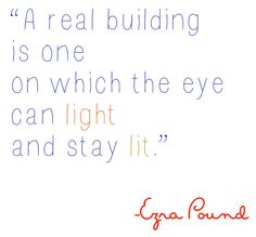 Ezra Pound quote about home