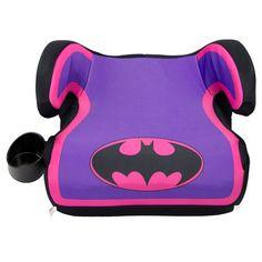 KidsEmbrace Fun Ride Backless Booster - Batgirl, Purple