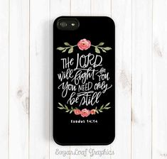 The Lord will Fight for You Be Still Bible by theSugarloafBoutique, $15.95