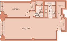 1 Bedroom 211