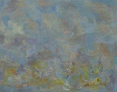 "Mark Wesling, ""Flower Scene"", 2008, oil on canvas, 11 x 14 in."
