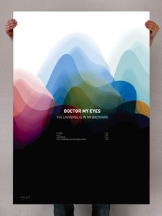 DME_Promotional poster 2008 by Jack Crossing, via Behance