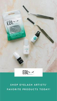 EBL is woman owned and lash artist approved. Shop today and find out why everyone loves them!