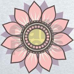 Floral Decor Men's V-Neck T-Shirt