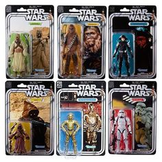 Star Wars The Black Series 40th Anniversary Vintage 6-Inch Action Figures bring back the legends that started it all. The original 12 Kenner characters are back, but the legendary collectible action figure line has been modernized and enlarged on vintage-style action figure packaging with... more details available at https://perfect-gifts.bestselleroutlets.com/gifts-for-teens/toys-games-gifts-for-teens/product-review-for-star-wars-the-black-series-40th-anniversary-6-inch-figu