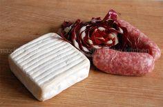 Strascinate con salsiccia, radicchio e robiola. via @Max Fini | Non esattamente un food blog.