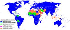 These 36 Countries Don't Recognize Israel - Brilliant Maps