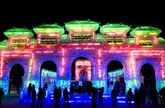 30th Harbin International Ice and Snow Sculpture Festival