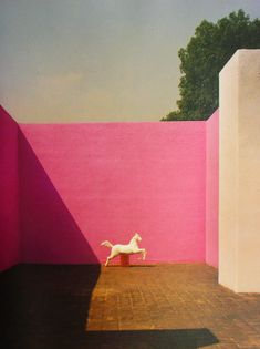 Casa Gálvez in the San Angel neighborhood of Mexico City by Luis Barragán