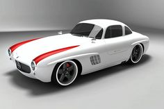 Gullwing-America 300 SL Panamerica - The Awesome-Looking 300 SL Replica Arturo Alonso, from Gullwing-America, has created Gullwing-America 300 SL Panamericaconcept,inspired by 300 SL's replica, signed by Hooper and Co's Gullwing-AG, from Germany. The concept car is built based on the aerospace derived composite technology, which involves a thin layer of sprayed...