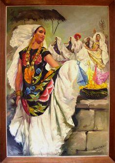 Mexican calendar paintings on exhibit at Kenedy Ranch Museum | www.raymondvillechroniclenews.com | Raymondville Chronicle News