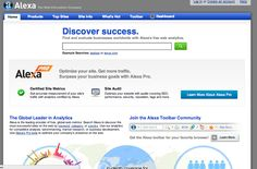 Alexa - Website Analytics  www.alexa.com