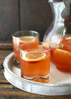 Strawberry Limoncello Sangria