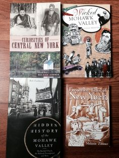 Books About Mohawk Valley and Central New York History