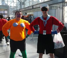 Mermaidman and Barnacleboy have been spotted at New York Comic Con!
