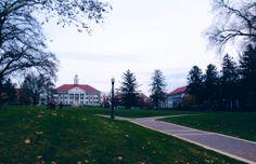 James Madison University quad