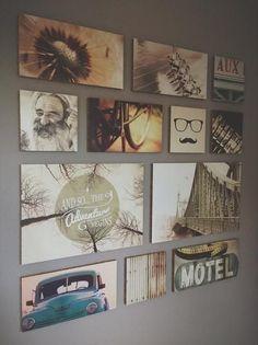 Bekijk de foto van OguLifestyle met als titel Trendy muurdecoratie Ogu Vintage, een chique woord voor tweedehands. Maar nostalgische beelden van personen en materialen in een Ogu geeft je interieur een gloednieuw leven! en andere inspirerende plaatjes op Welke.nl.