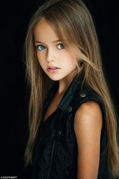 Kristina Pimenova is just nine years old but has become a worldwide sensation after pictures of her in flimsy shorts showing her 'long legs' triggered a storm of criticism on Instagram and Twitter