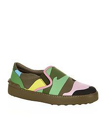 Valentino Psychedelic Camouflage Skate Shoe