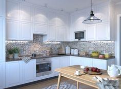 Угловая, П-образная, двухрядная – разбираемся в плюсах и минусах планировки кухонной зоны и подбираем оформление, которое подчеркнет индивидуальность и характер разных типов жильцов