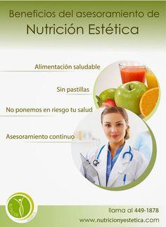 Nutricion Estetica: Beneficios del asesoramiento de Nutrición Estética...