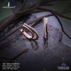 Little gifts speaks a lot. Get in touch with us on Diamond Earrings Indian, Diamond Bracelets, Diamond Jewelry, Gold Jewelry, Diamond Earing, India Jewelry, Jewelry Design Earrings, Gold Earrings Designs, Small Earrings