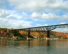 Railroad Bridge, Highland, NY.