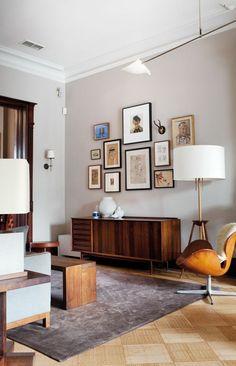 gestaltungsmöglichkeiten wohnzimmer bilder holzmöbel