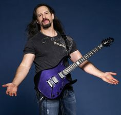 John Petrucci's MusicMan JP60 (also his pose is awesome)