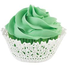Green Doily Baking Cup Kit - Wilton