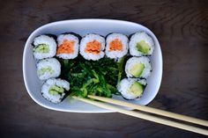 Today (18 June) is International Sushi Day. If youthink you need fish to make sushi then it's time to think again. Vegan sushi is delicious, healthy and easy to make. Here are 10 recipes for vegan sushi if you fancy having a go: 1. Avo hand rolls KEEP CALM AND EAT (VEGAN) SUSHI ❤️✨ You […]
