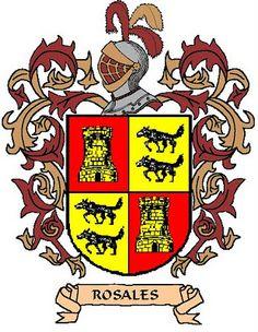 Escudo de armas Rosales