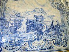 Nesta hora: Azulejos do Mercado do Livramento, em Setúbal (IV)