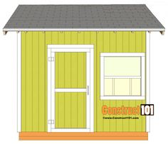 shed plans gable shed shingles and trim 10x10 Shed Plans, Wood Shed Plans, Shed Building Plans, Deck Plans, Building A Deck, Barn Plans, Building Design, Shed Design, Deck Design