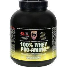 Healthy N Fit Nutritionals Whey Pro-Amino Vanilla Ice Cream - 5 lbs