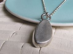 Silver Necklaces, Silver Jewelry, Pebble Stone, Bangles, Bracelets, Infinity, Jewelry Design, Jewelry Making, Pendants