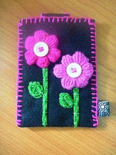 Life is like a rainbow: Felt Craft: Handphone Cosy