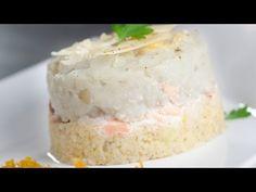 Parmentier de saumon, purée de topinambours, boulgour aux agrumes confits - YouTube