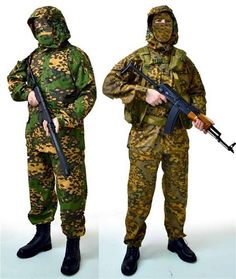 Russian 2-side Camouflage RATNIK KLMK Army Suit (Frog | Partizan) BARS