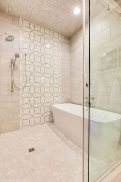 This walk-in shower has a bathtub inside! See more photography of The Rangemoss, plan 1211 at http://www.dongardner.com/house-plan/1211/the-rangemoss. #MasterBathroom #Shower #Luxury