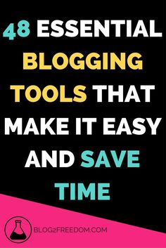 48 must have tools to help your blog. These tools will make blogging easier and take some of the workload off your lap. Helpful for all bloggers, new and experienced. Schedule Make Money Blogging, Make Money Online, How To Make Money, Must Have Tools, Internet, Blogging For Beginners, Mom Blogs, Blog Tips, Making Ideas