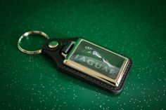 Great Jaguar Medallion Keyring by WeeHings on Etsy
