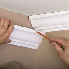 Installing Crown Moulding   Home Depot Canada