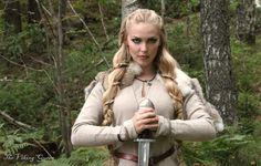 Female Viking Warrior Makeup | Modeling, clothing, hair and makeup: Sól SpydsdóttirJewelry ...