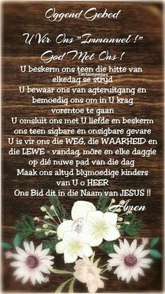 Good Morning Prayer, Morning Prayers, Good Morning Wishes, Good Morning Quotes, Prayer Quotes, Bible Quotes, Evening Greetings, Afrikaanse Quotes, Goeie More